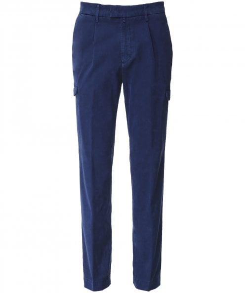 Briglia 1949 Slim Fit Utility Trousers
