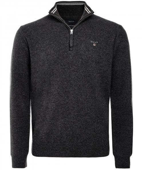 GANT Superfine Lambswool Half-Zip Jumper