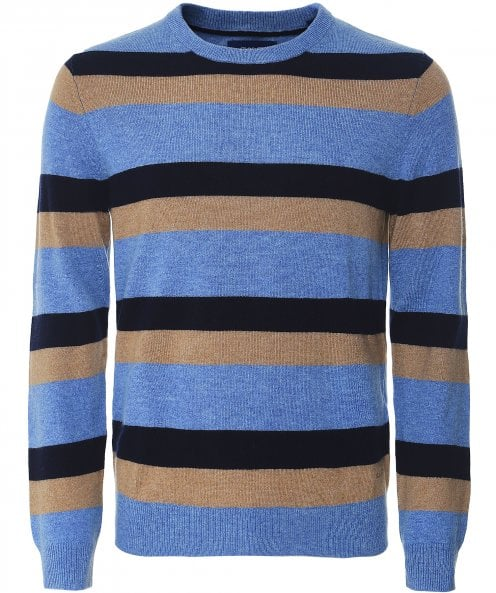 GANT Cashmere Wool Multi Striped Jumper