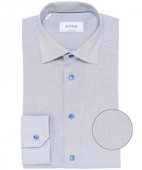 Eton Contemporary Fit Micro Stripe Shirt