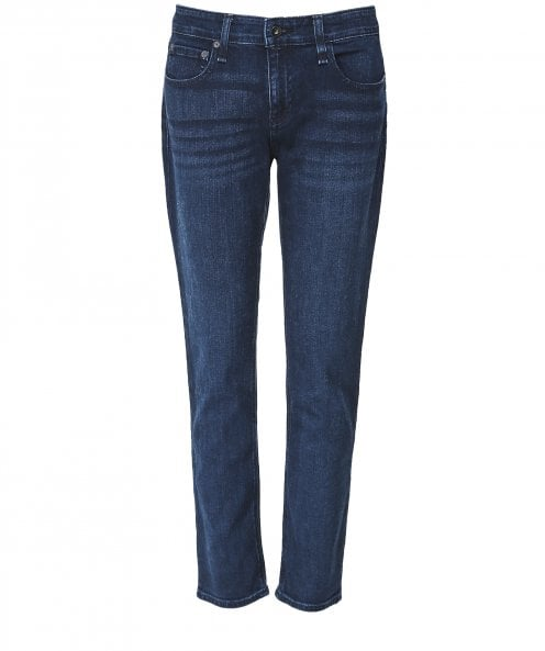 Rag and Bone Dre Low-Rise Boyfriend Jeans