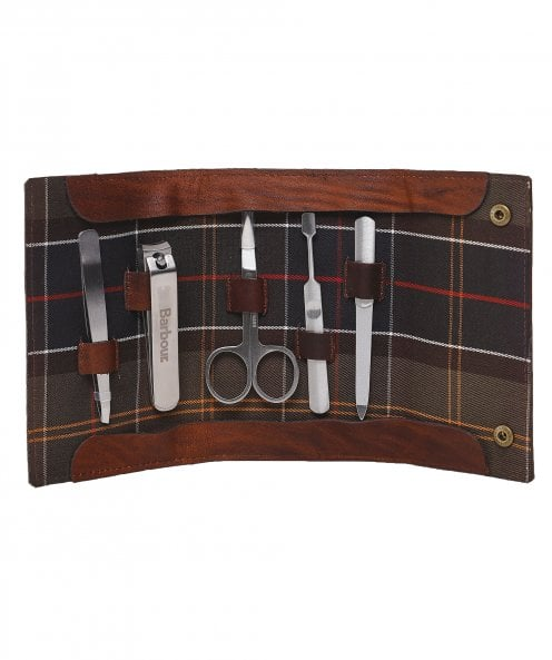Barbour Leather Aydon Manicure Kit