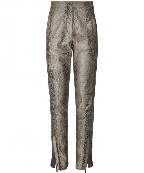 Annette Gortz Cay Printed Zip Trousers