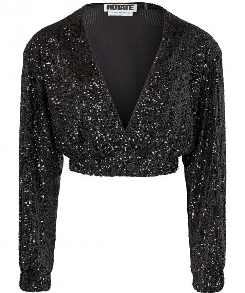 ROTATE Judy Sequin Jacket