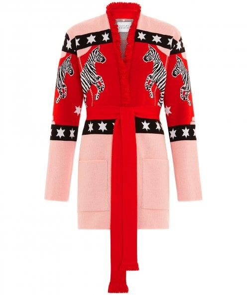 Hayley Menzies Carousel Cotton Jacquard Cardigan