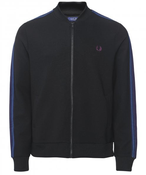 Fred Perry Taped Bomber Track Jacket J9523