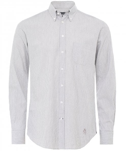 Walker Slater Slim Fit Pinstripe Douglas Shirt