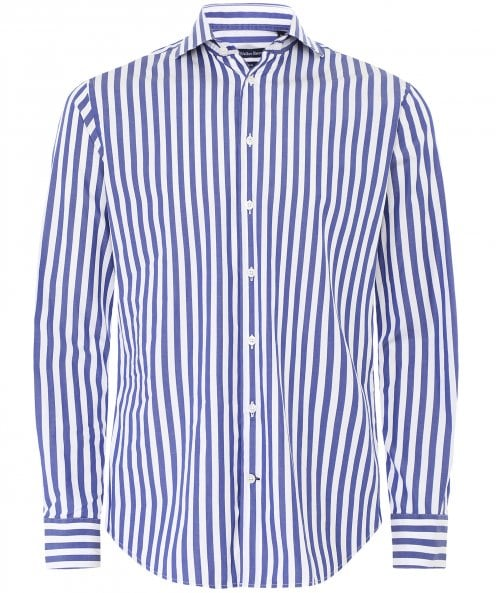 Walker Slater Slim Fit Striped Douglas Shirt