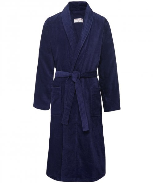 Derek Rose Velour Towelling Triton 10 Robe
