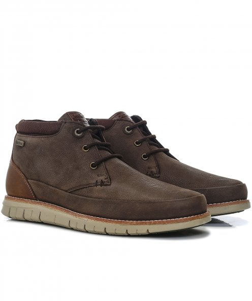 Barbour Leather Nelson Chukka Boots