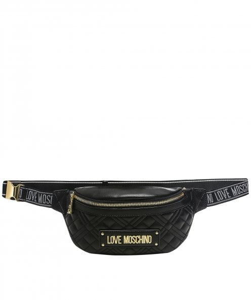 Love Moschino Quilted Waist Bag