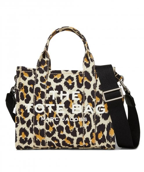 Marc Jacobs Leopard Small Traveller Tote Bag