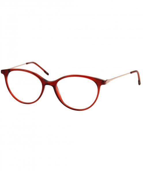 Moleskine MO1137 46 Crystal Red and Rose Gold Optical Glasses