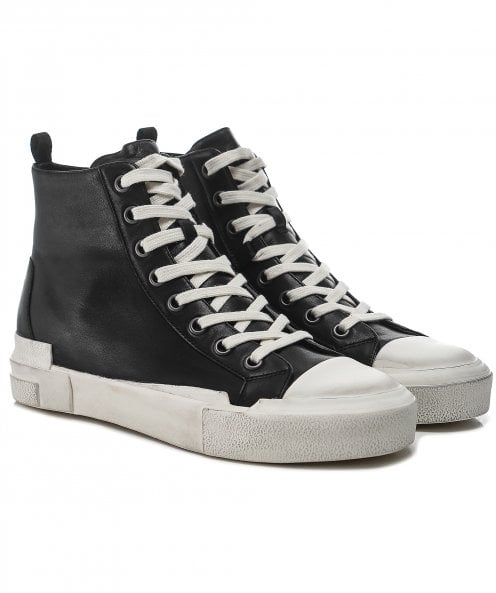 Ash Ghibly Bis Leather Trainers