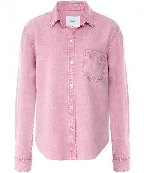 Rails Ingrid Raw Acid Wash Shirt