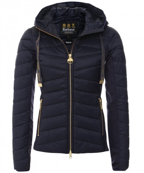 Barbour International Grid Quilted Jacket