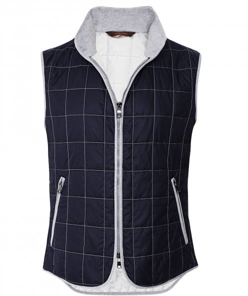 Waterville Water-Repellent Box Quilted Gilet
