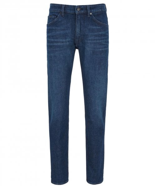 BOSS Tapered Fit Taber+ Jeans