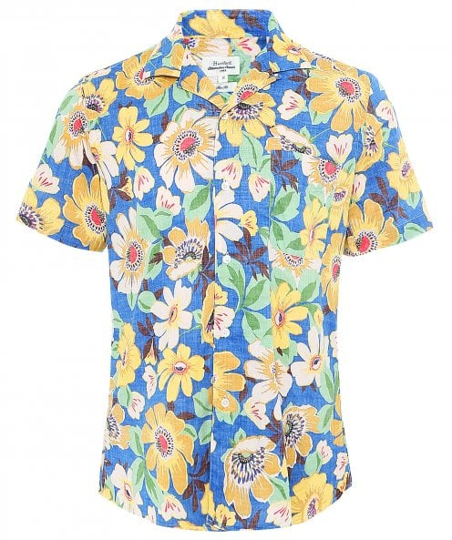 Hartford Slim Fit Floral Slam Shirt
