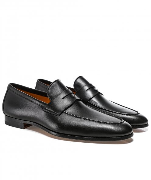 Magnanni Leather Penny Delos Loafers