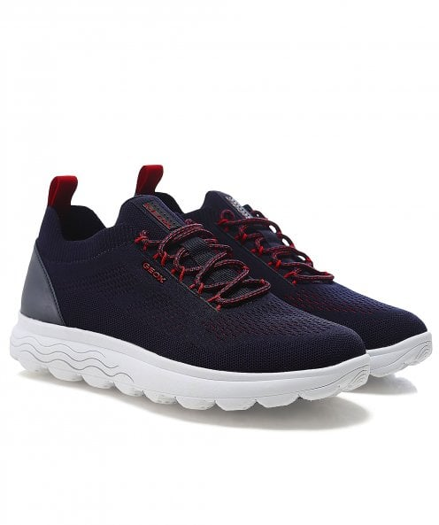 Geox Knitted Spherica Trainers
