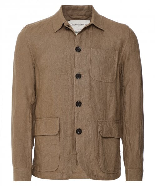Oliver Spencer Linen Cowboy Jacket