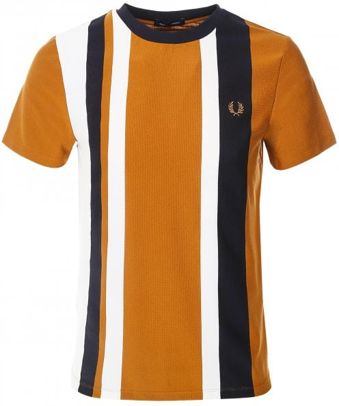 Fred Perry Striped Pique T-Shirt M1596 644