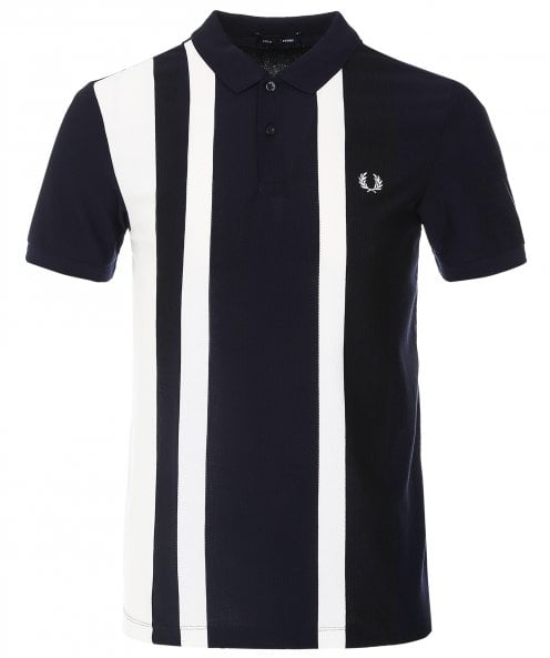 Fred Perry Striped Pique Polo Shirt M1620 608