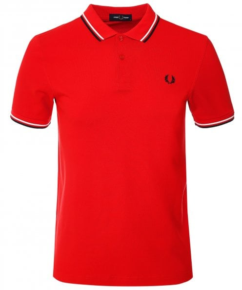 Fred Perry Twin Tipped Polo Shirt M3600 C73