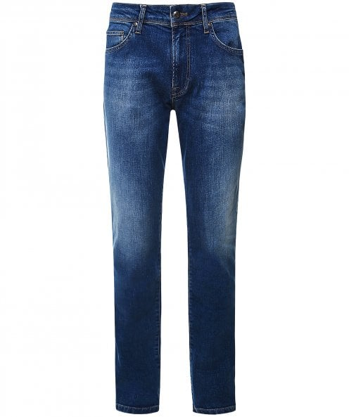 Hackett Slim Fit Vintage Wash Jeans