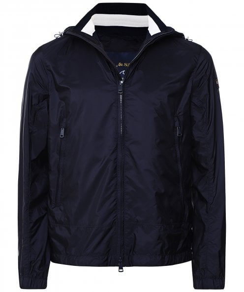 Paul and Shark Weather-Resistant Hooded Jacket