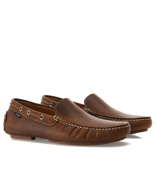 Loake Leather Donnington Driving Shoes