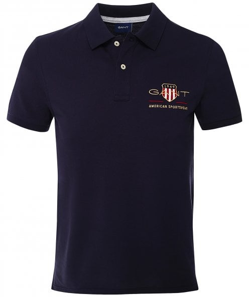 GANT Regular Fit Archive Shield Polo Shirt