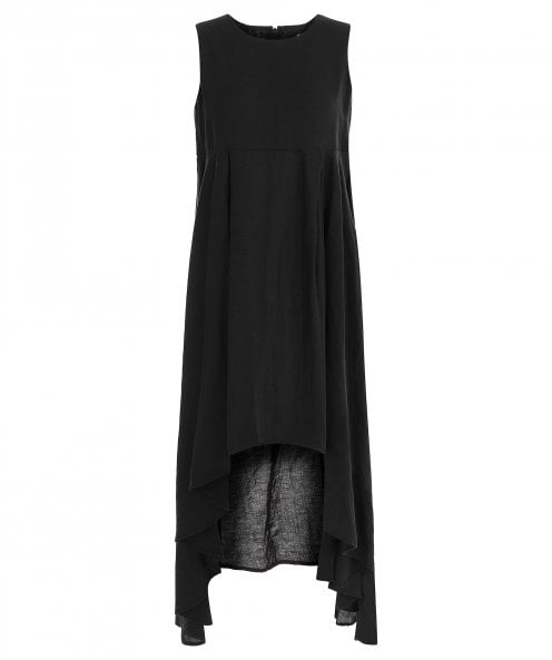 NU Draped Hem Dress