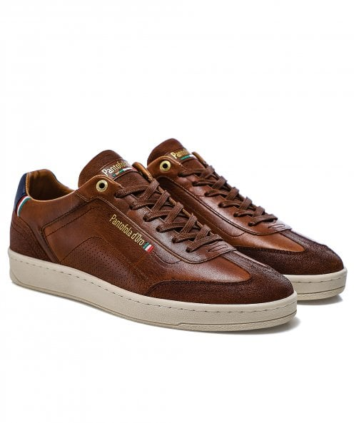 Pantofola d'Oro Leather Messina Trainers