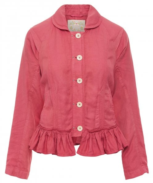 High Go-Yonder Peplum Jacket