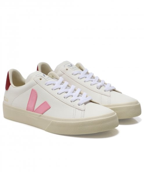Veja Women's ChromeFree Leather Campo Trainers
