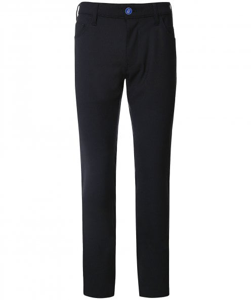 M5 by Meyer Regular Fit Bi-Stretch Wool Trousers