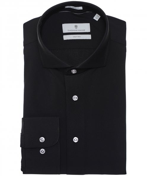 Thomas Maine Tailored Fit Knitted Roma Shirt