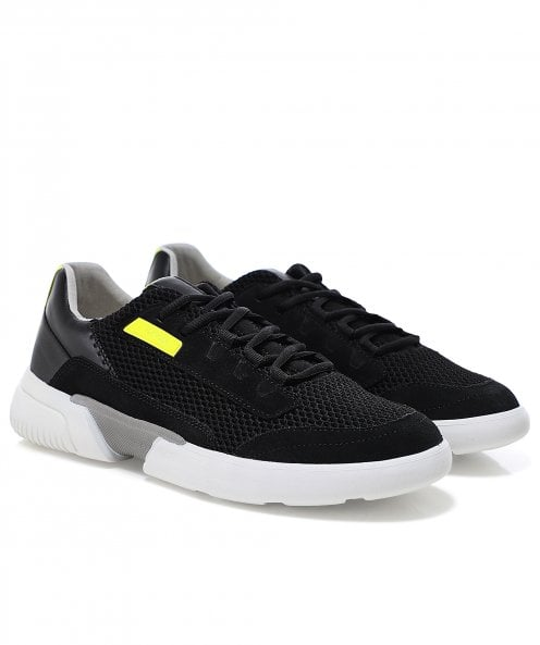 Geox Mesh Suede Smoother Trainers