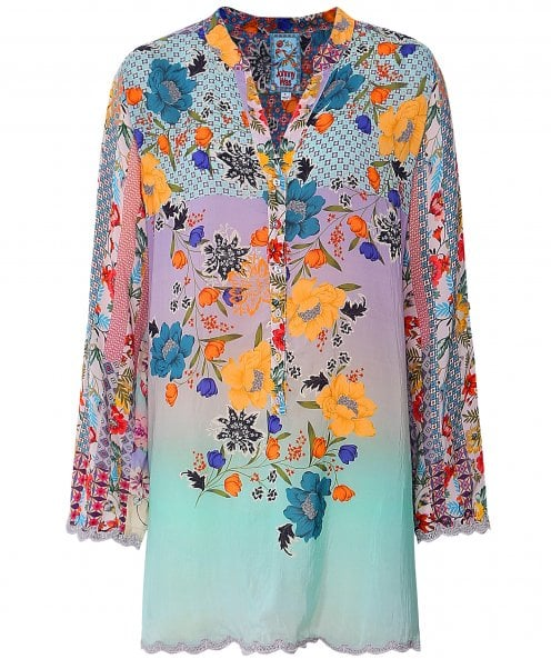 Johnny Was Janice Floral Tunic