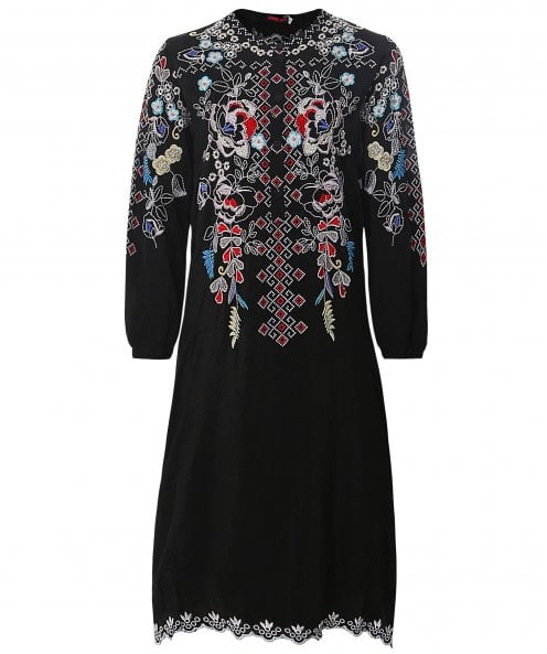 Johnny Was Nola Embroidered Dress
