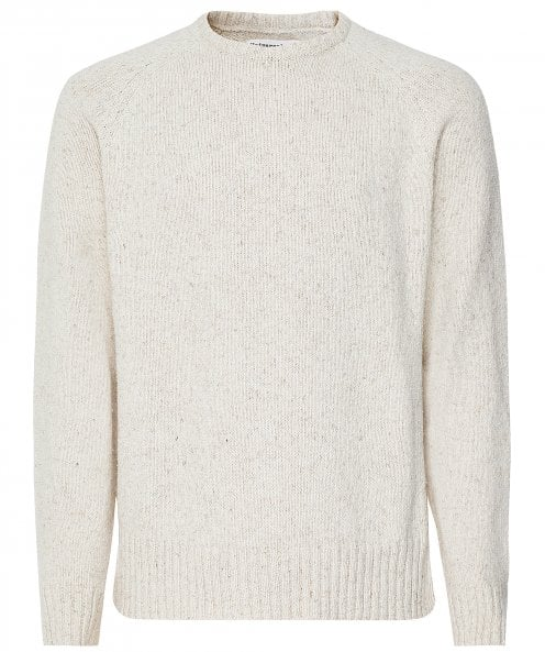Universal Works Cotton Linen Light Crew Neck Jumper