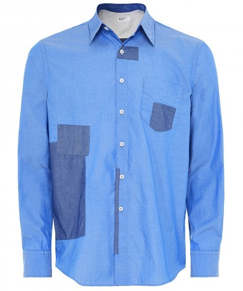 Universal Works Chambray Patched Shirt