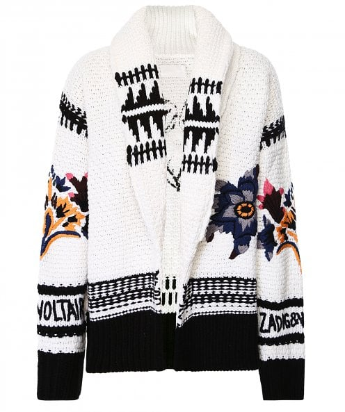 Zadig & Voltaire Ella Embroidered Cardigan