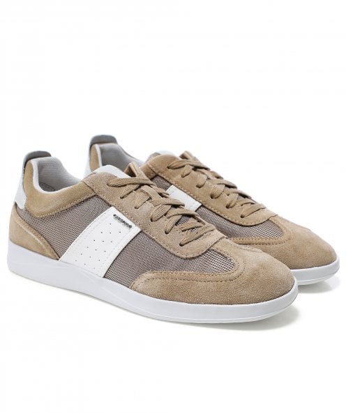 Geox Mesh Suede Kennet Trainers