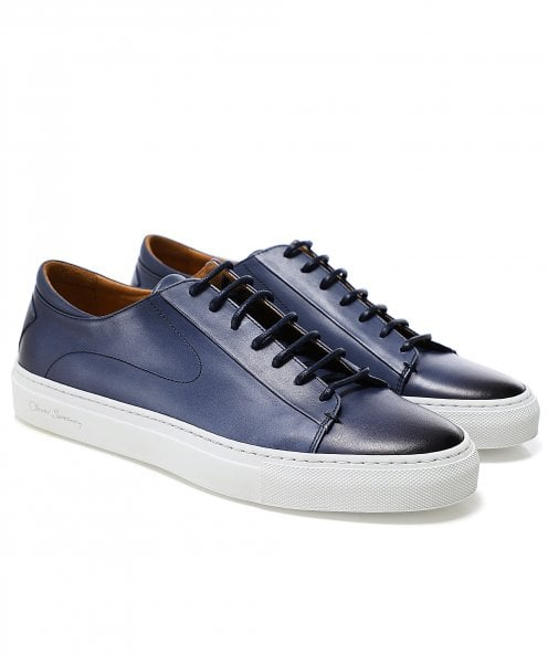 Oliver Sweeney Exclusive Leather Osimo Trainers