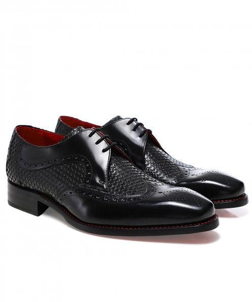 Jeffery-West Textured Leather Dexter Bold Shoes