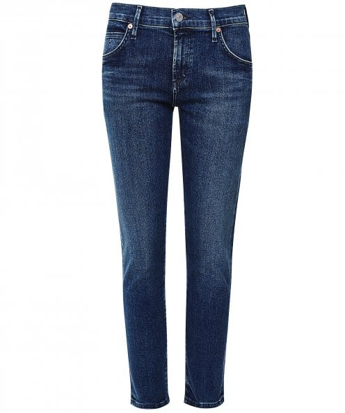 Citizens of Humanity Elsa Mid Rise Slim Fit Cropped Jeans