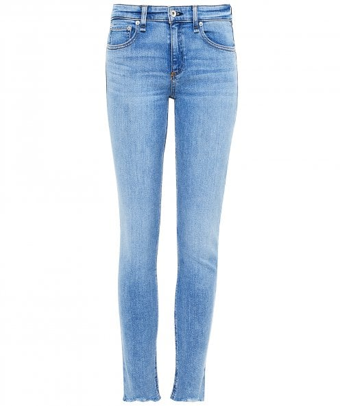 Rag and Bone Cate Mid-Rise Ankle Skinny Jeans